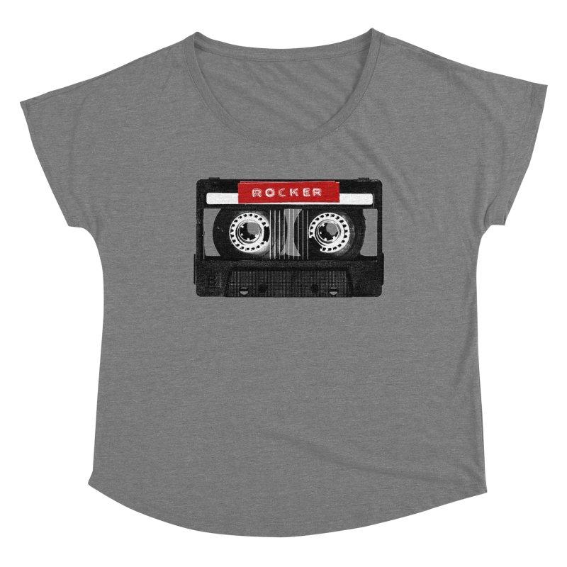 Rocker MixTape Women's Scoop Neck by Friday the Shirteenth