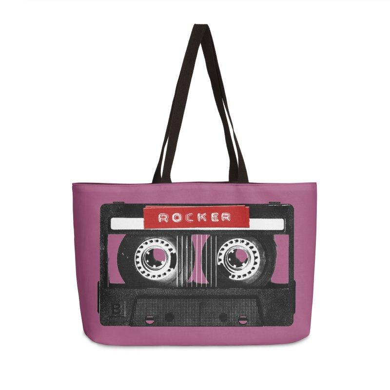 Rocker MixTape Accessories Weekender Bag Bag by Friday the Shirteenth