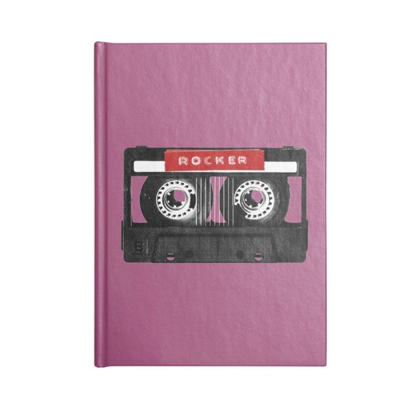 Rocker MixTape Accessories Blank Journal Notebook by Friday the Shirteenth