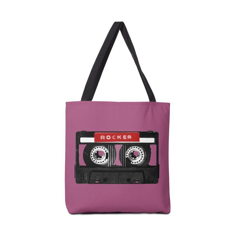 Rocker MixTape Accessories Tote Bag Bag by Friday the Shirteenth