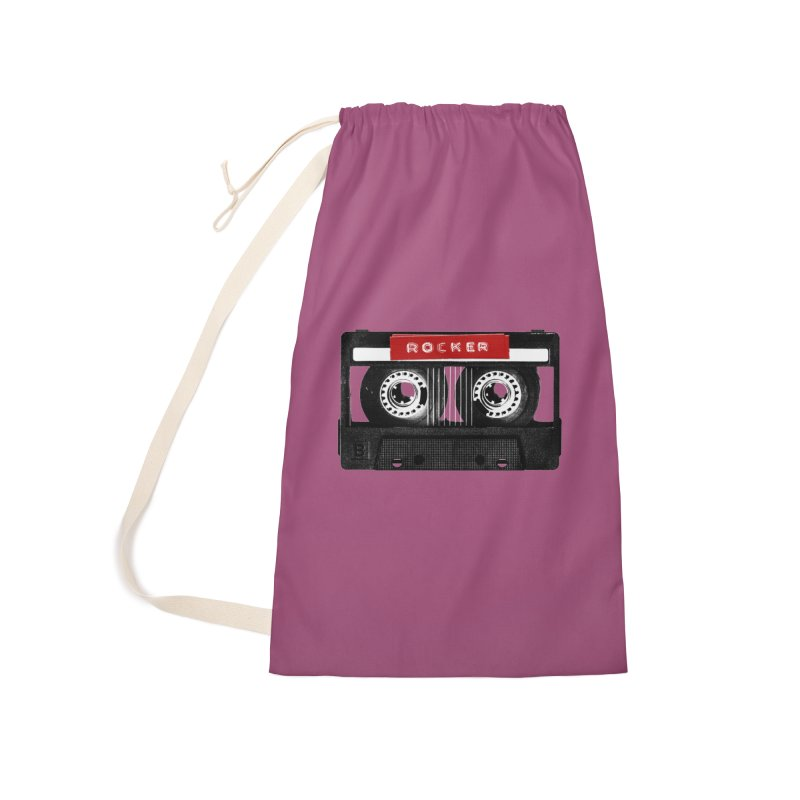 Rocker MixTape Accessories Laundry Bag Bag by Friday the Shirteenth