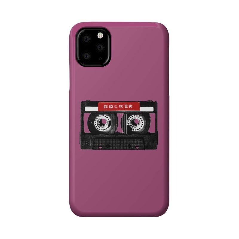 Rocker MixTape Accessories Phone Case by Friday the Shirteenth