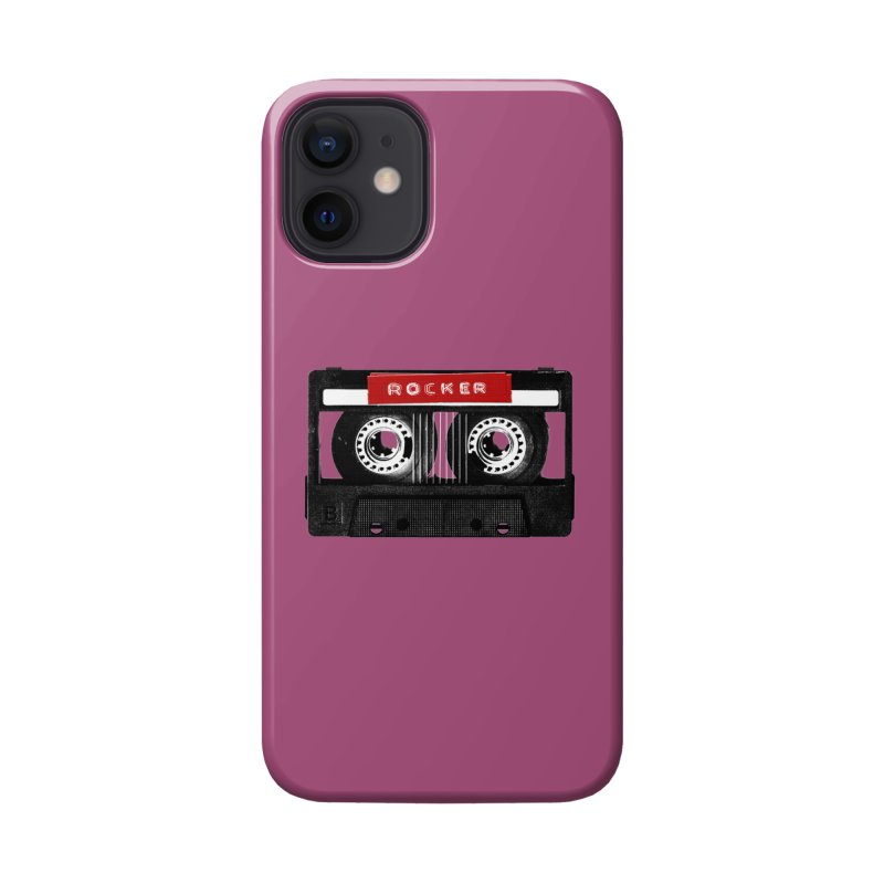 Rocker MixTape Accessories Phone Case by Friday the Shirteenth