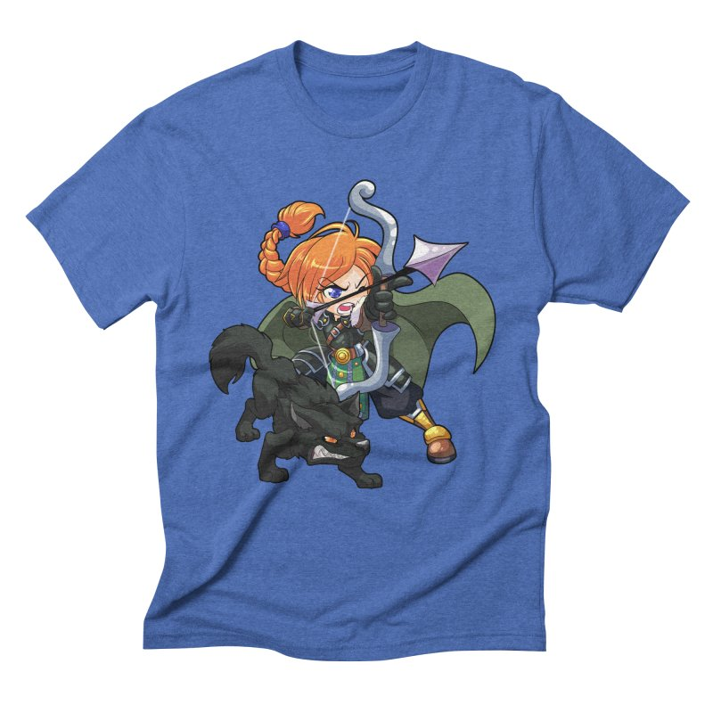 Chibi Series 2: Ranger Men's Triblend T-Shirt by Shirts by Noc