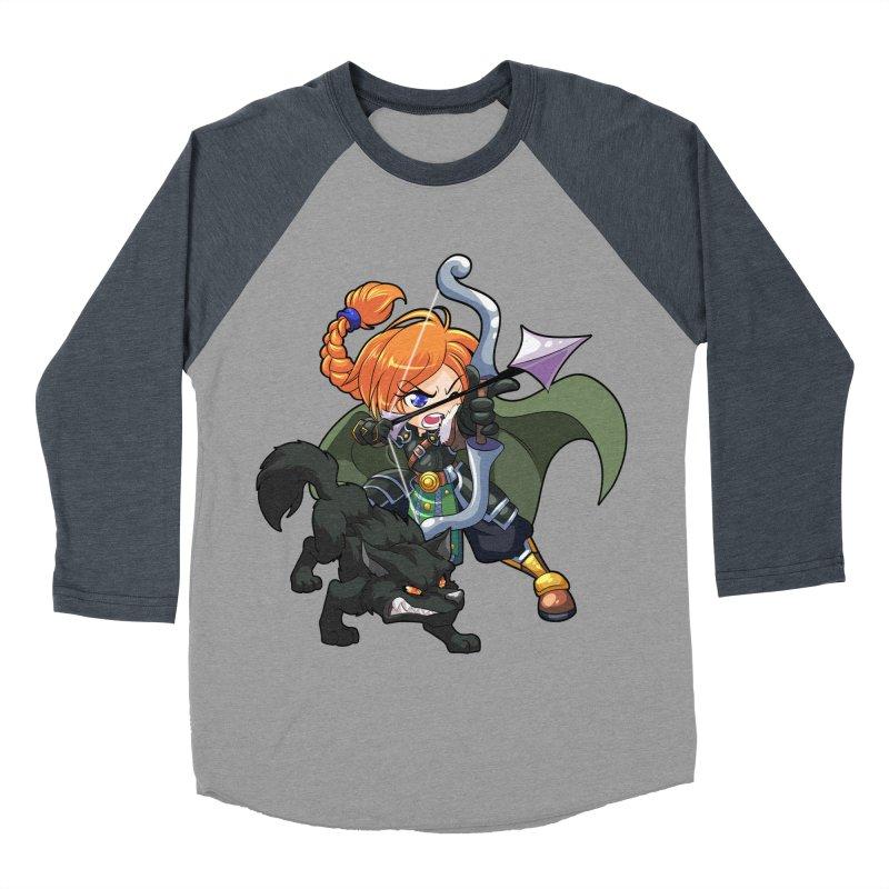 Chibi Series 2: Ranger Women's Baseball Triblend Longsleeve T-Shirt by Shirts by Noc