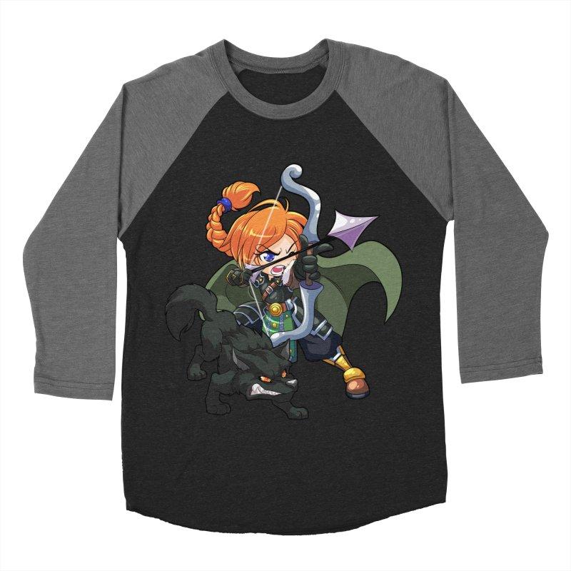 Chibi Series 2: Ranger Men's Baseball Triblend Longsleeve T-Shirt by Shirts by Noc
