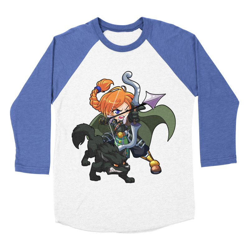 Chibi Series 2: Ranger Men's Baseball Triblend T-Shirt by Shirts by Noc