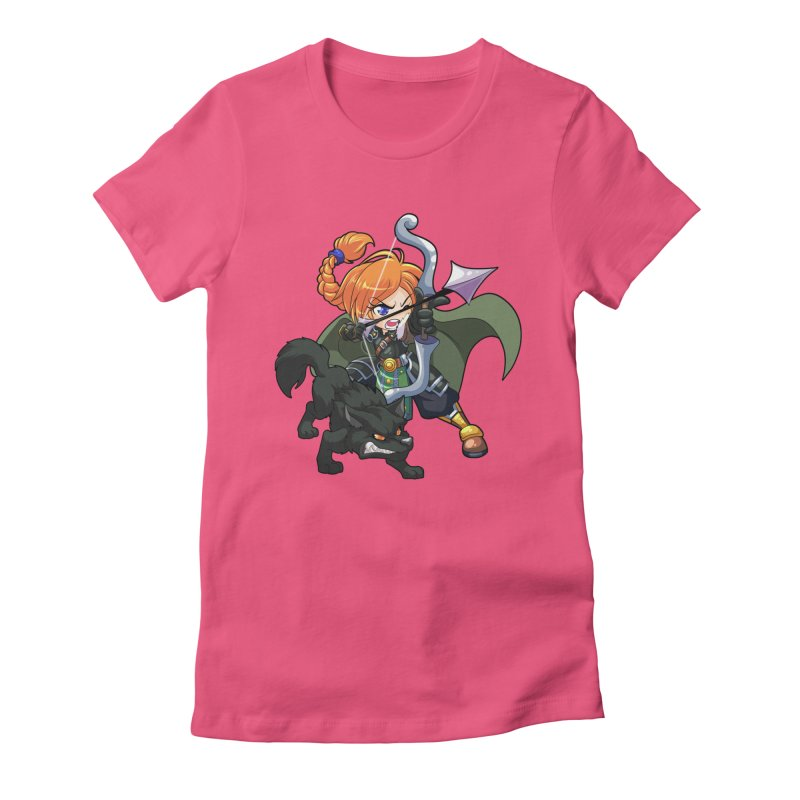 Chibi Series 2: Ranger Women's Fitted T-Shirt by Shirts by Noc
