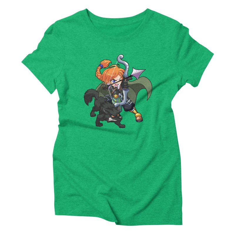 Chibi Series 2: Ranger Women's Triblend T-Shirt by Shirts by Noc