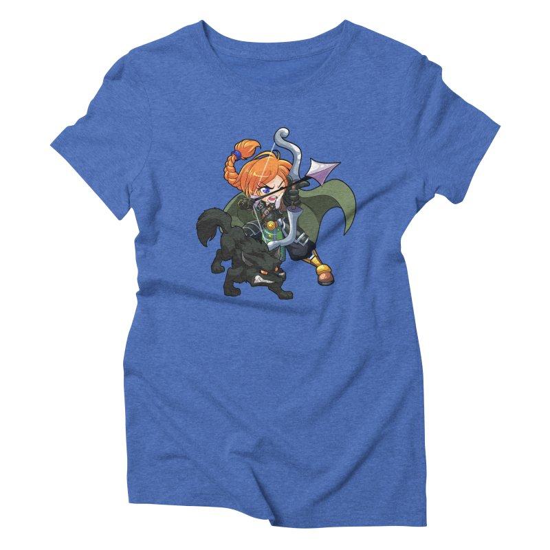 Chibi Series 2: Ranger Women's Triblend T-Shirt by Shirts by Noc