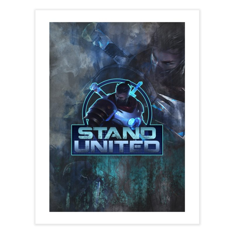 Stand United Home Fine Art Print by Shirts by Noc