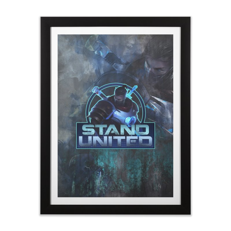 Stand United Home Framed Fine Art Print by Shirts by Noc