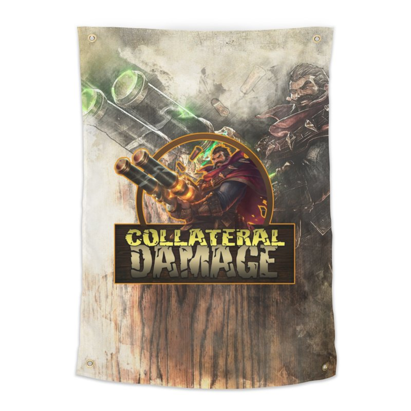 Collateral Damage Home Tapestry by Shirts by Noc
