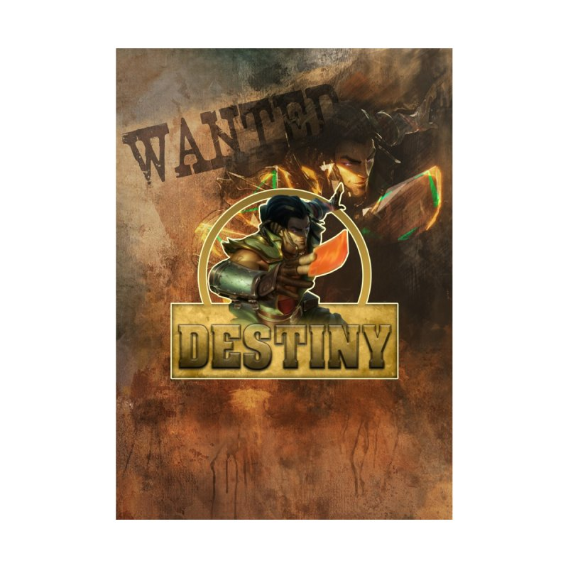 Destiny Home Fine Art Print by Shirts by Noc