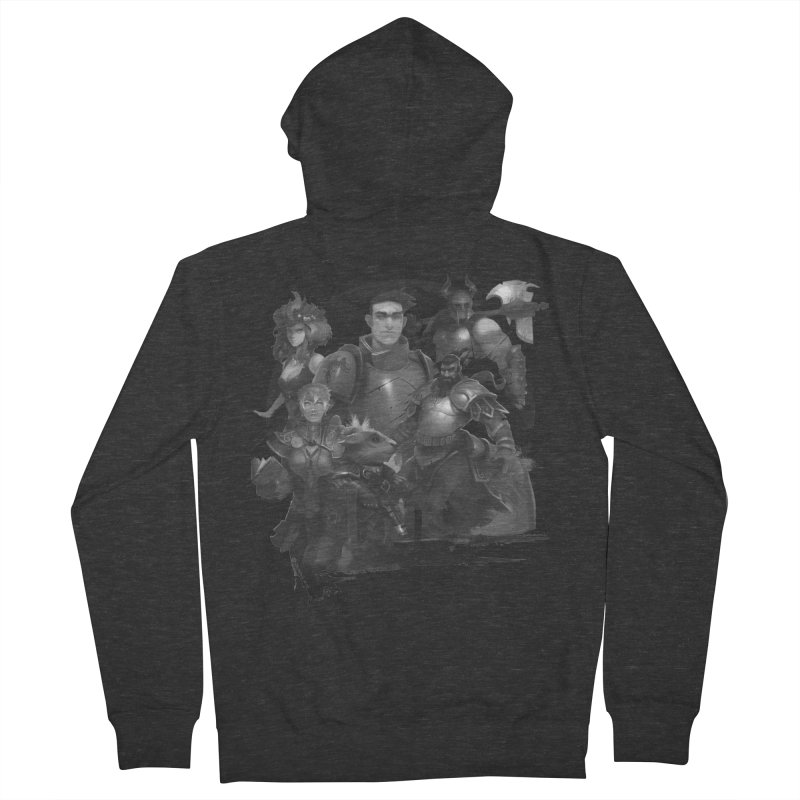 We're All Crows Now Women's Zip-Up Hoody by Shirts by Noc