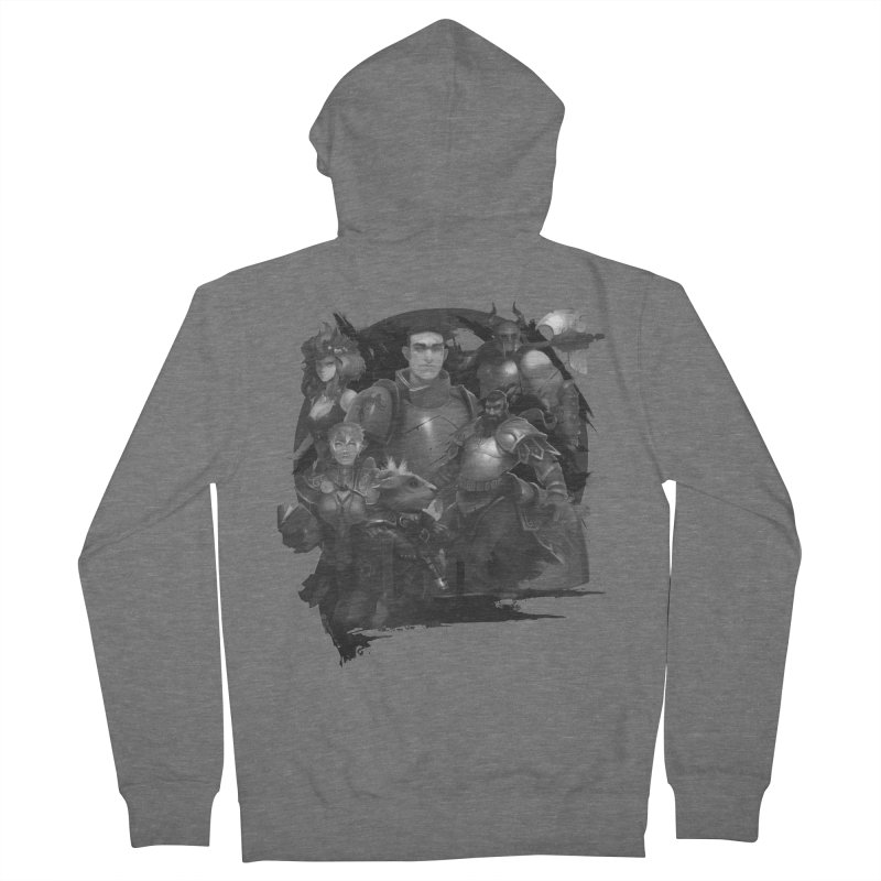 We're All Crows Now Men's French Terry Zip-Up Hoody by Shirts by Noc