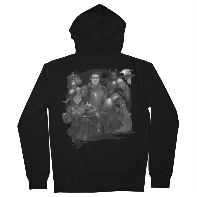 We're All Crows Now Men's Zip-Up Hoody by Shirts by Noc