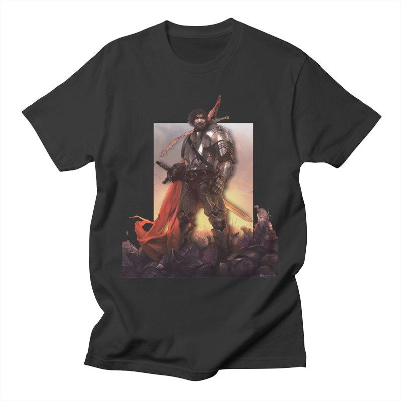 Hero Cutout Men's T-Shirt by Shirts by Noc