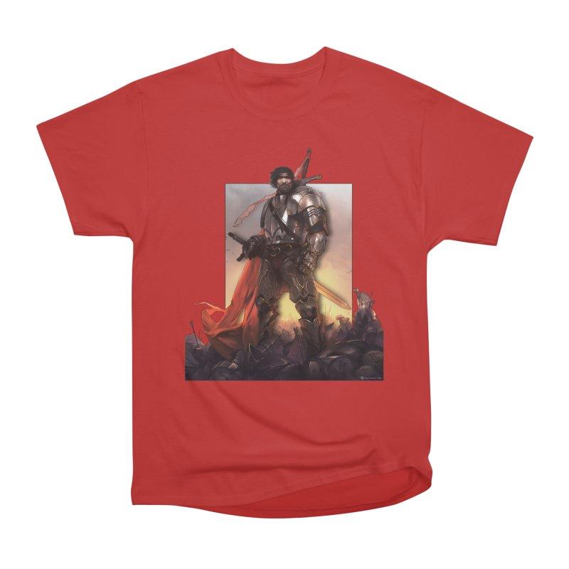 Hero Cutout Men's Classic T-Shirt by Shirts by Noc