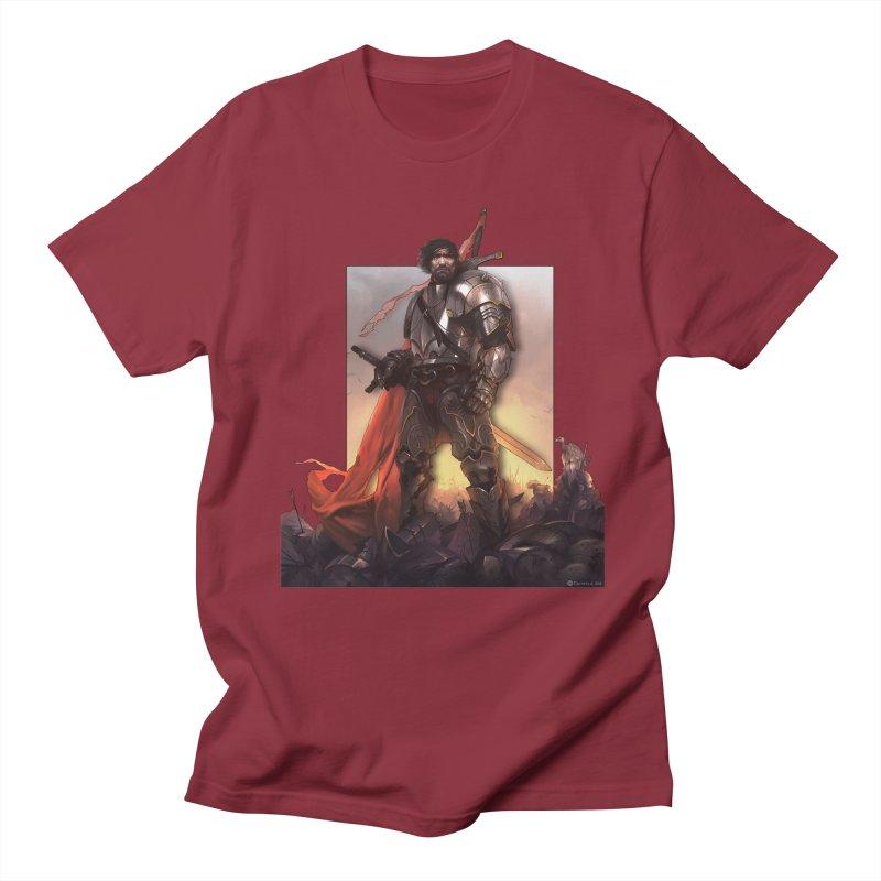 Hero Cutout Men's Regular T-Shirt by Shirts by Noc