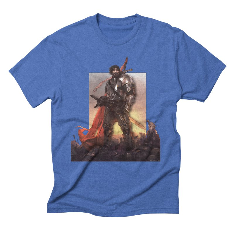 Hero Cutout Men's T-Shirt by Shirts by Noc