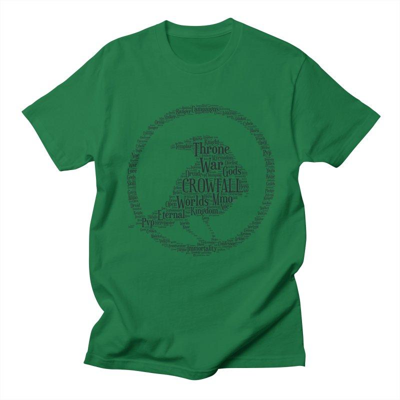 Crowfall Cloud Men's T-Shirt by Shirts by Noc