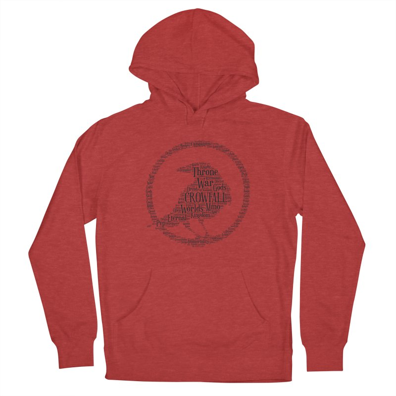Crowfall Cloud Men's French Terry Pullover Hoody by Shirts by Noc