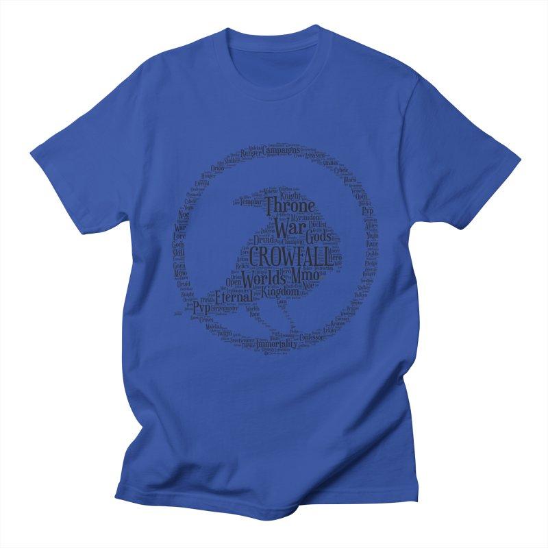 Crowfall Cloud Men's Regular T-Shirt by Shirts by Noc
