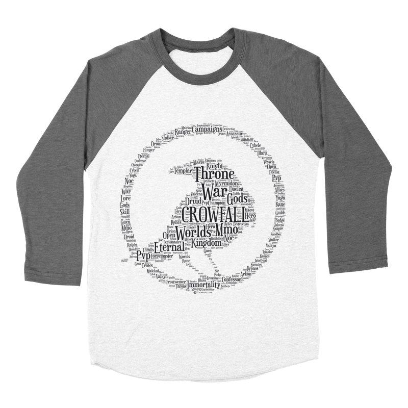 Crowfall Cloud Men's Baseball Triblend Longsleeve T-Shirt by Shirts by Noc