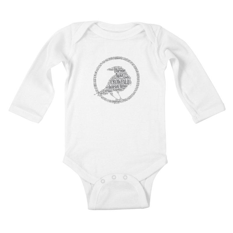 Crowfall Cloud Kids Baby Longsleeve Bodysuit by Shirts by Noc