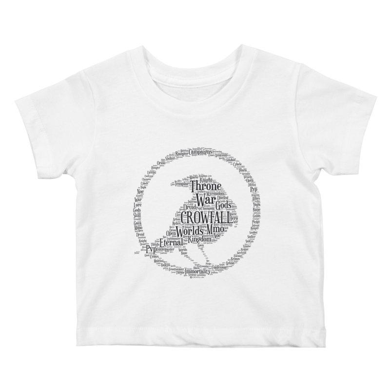 Crowfall Cloud Kids Baby T-Shirt by Shirts by Noc