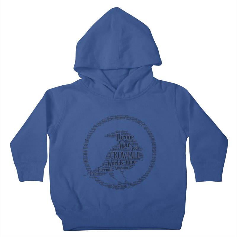 Crowfall Cloud Kids Toddler Pullover Hoody by Shirts by Noc