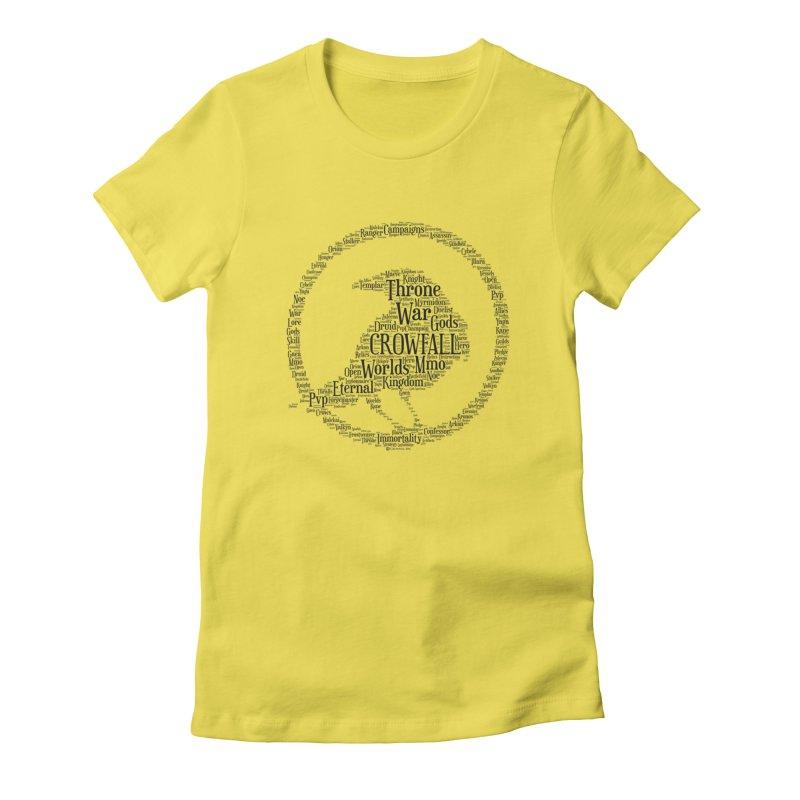 Crowfall Cloud Women's T-Shirt by Shirts by Noc