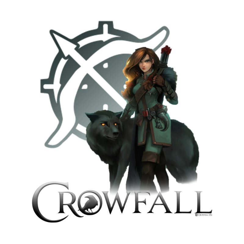Crowfall Ranger Home Fine Art Print by Shirts by Noc