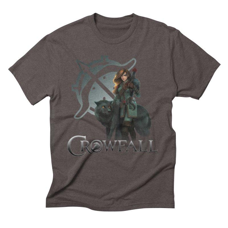 Crowfall Ranger Men's Triblend T-Shirt by Shirts by Noc