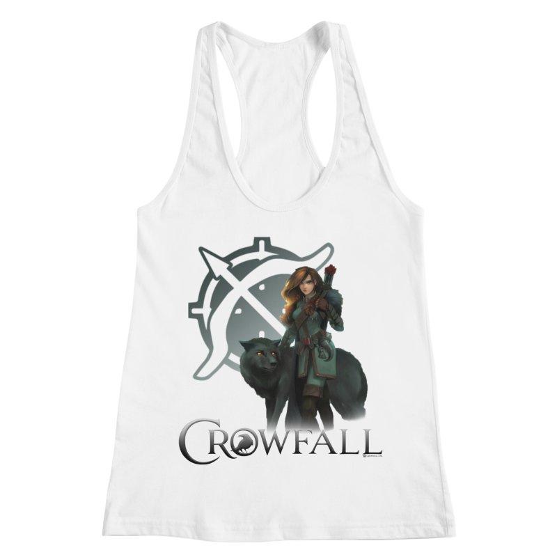 Crowfall Ranger Women's Racerback Tank by Shirts by Noc