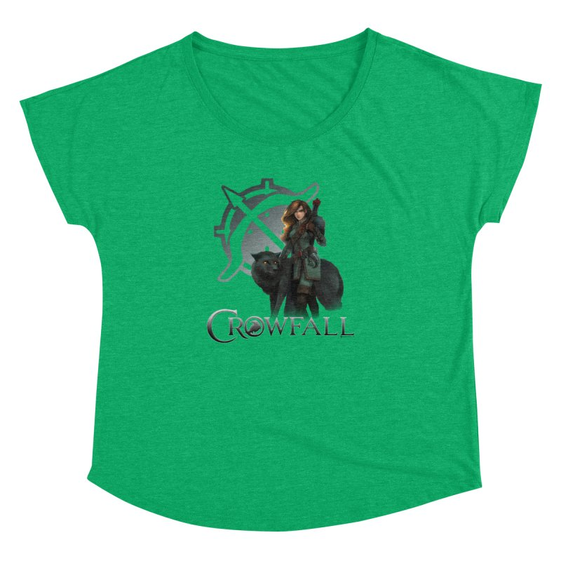 Crowfall Ranger Women's Scoop Neck by Shirts by Noc