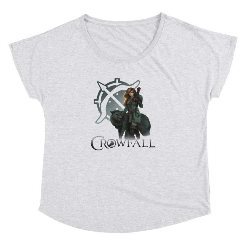 Crowfall Ranger Women's Dolman Scoop Neck by Shirts by Noc