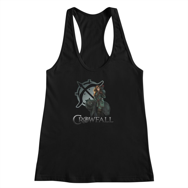 Crowfall Ranger Women's Racerback Tank by Shirts by Noc