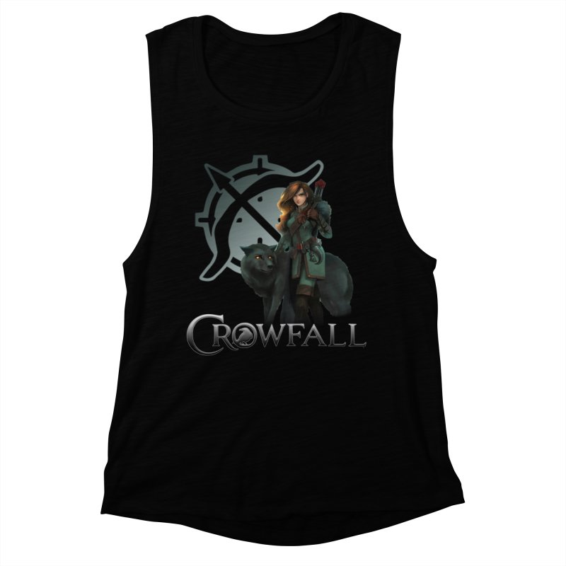 Crowfall Ranger Women's Muscle Tank by Shirts by Noc