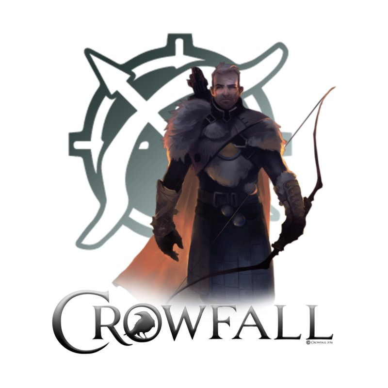 Crowfall Ranger 2 Men's V-Neck by Shirts by Noc