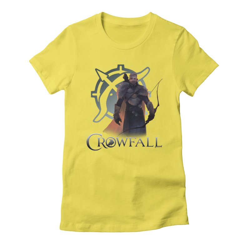 Crowfall Ranger 2 Women's Fitted T-Shirt by Shirts by Noc