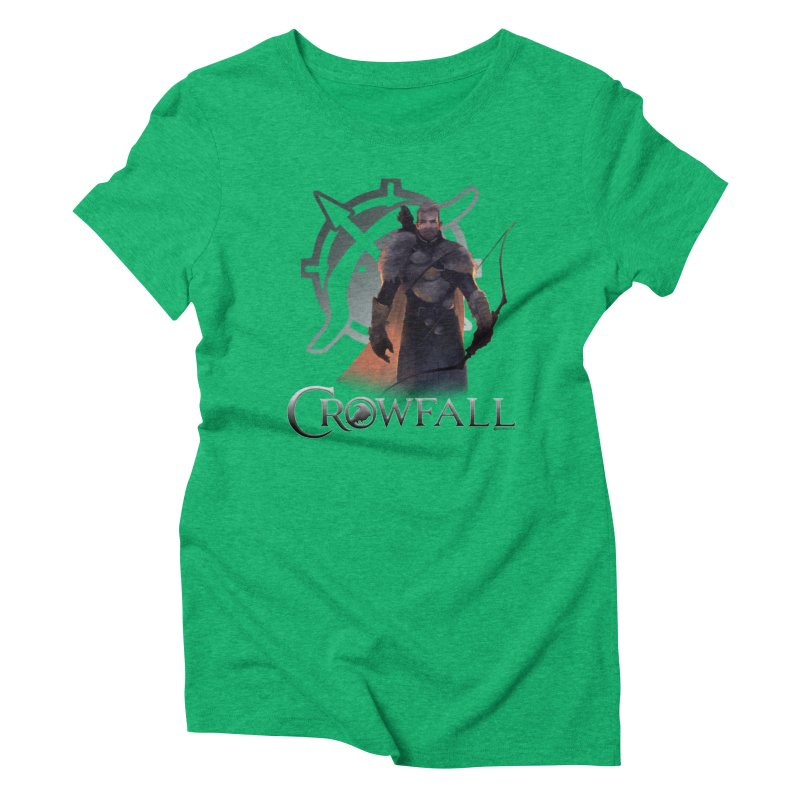 Crowfall Ranger 2 Women's Triblend T-Shirt by Shirts by Noc
