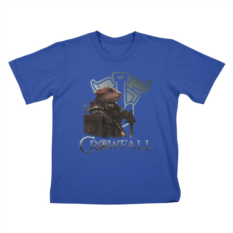 Crowfall Duelist Kids T-Shirt by Shirts by Noc
