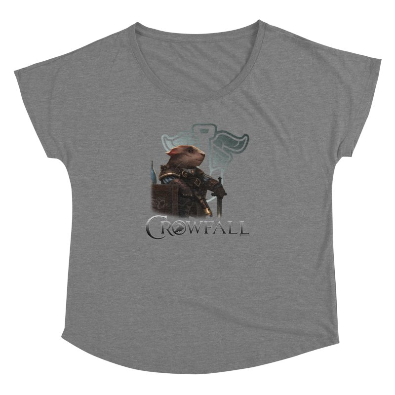 Crowfall Duelist Women's Scoop Neck by Shirts by Noc