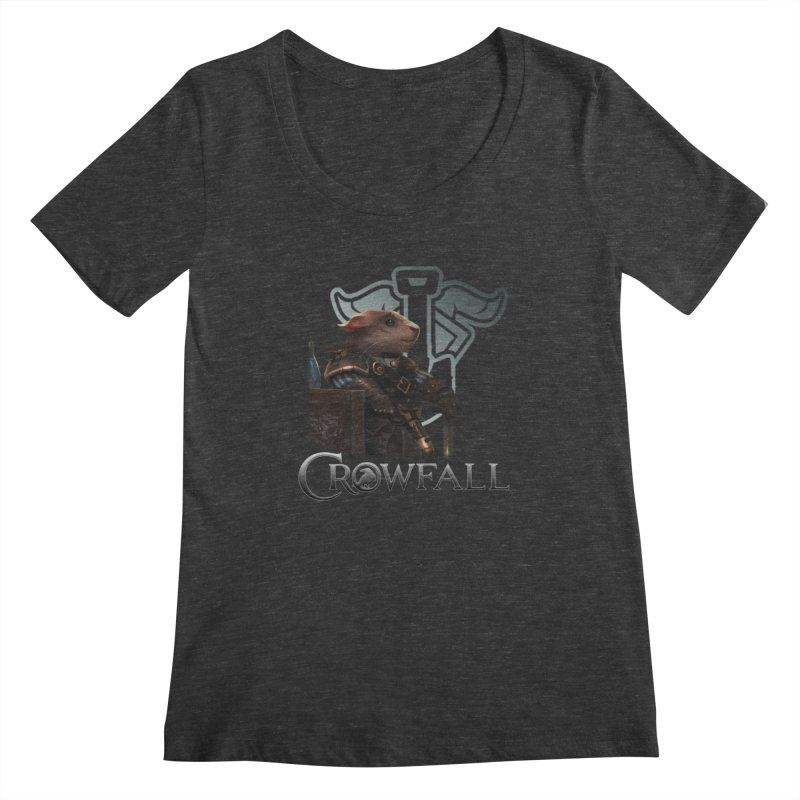 Crowfall Duelist Women's Scoopneck by Shirts by Noc