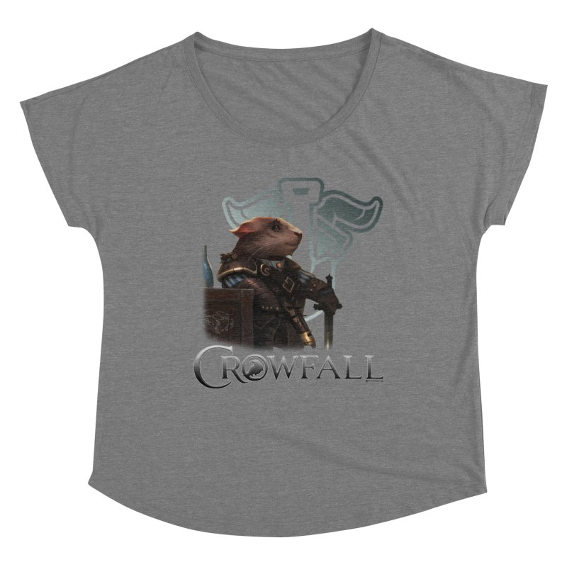 Crowfall Duelist Women's Dolman Scoop Neck by Shirts by Noc