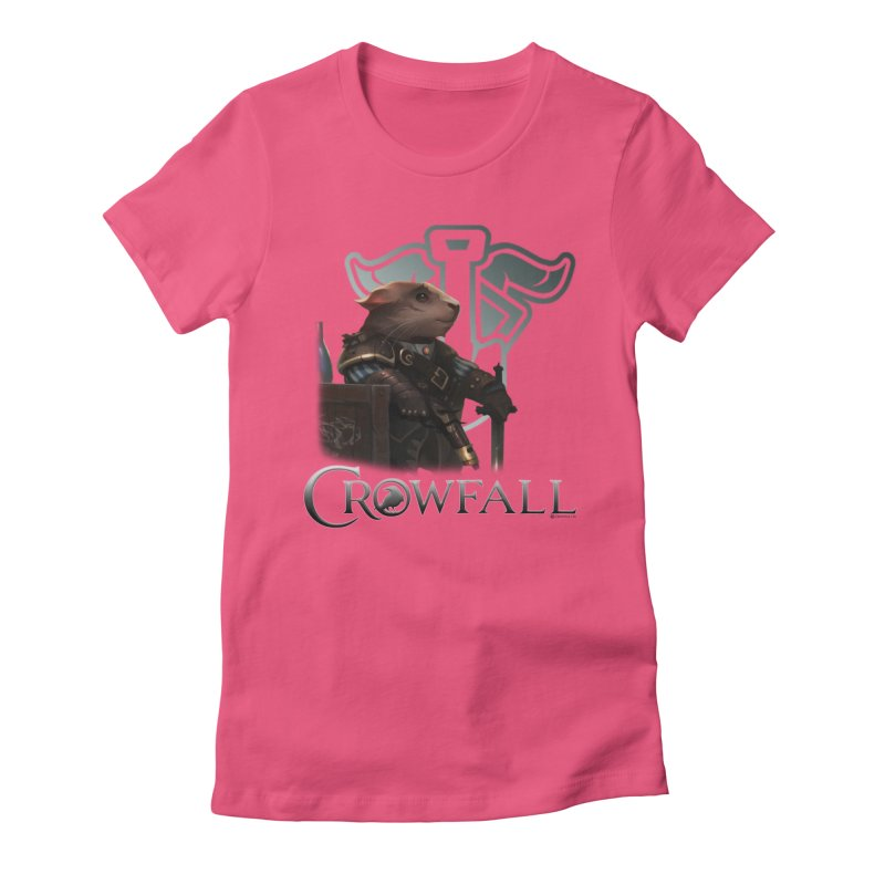 Crowfall Duelist Women's Fitted T-Shirt by Shirts by Noc