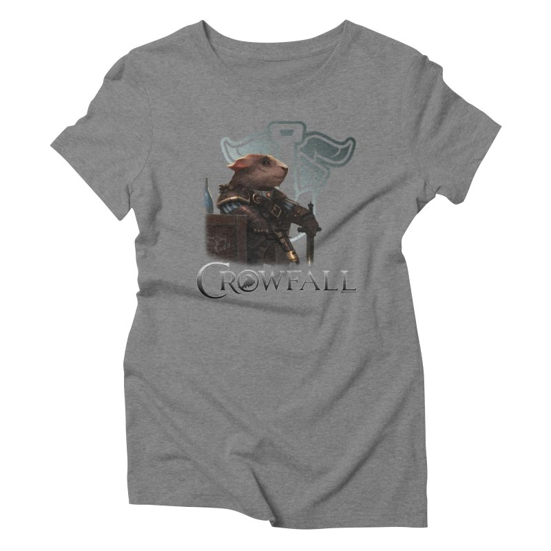 Crowfall Duelist Women's Triblend T-Shirt by Shirts by Noc