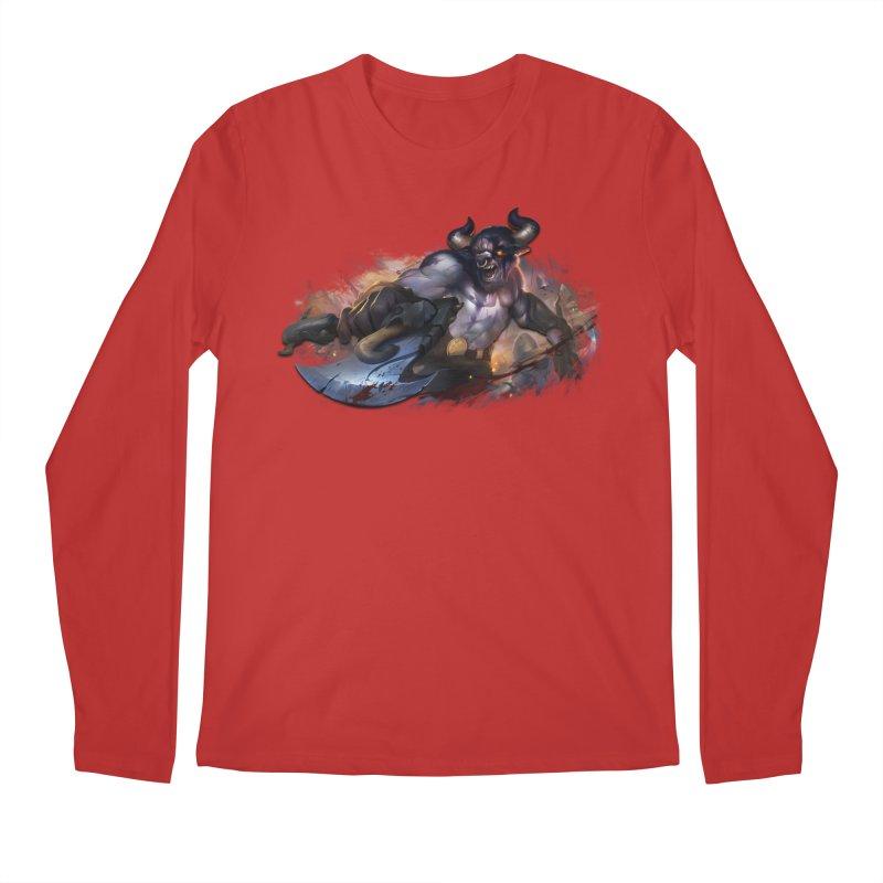 Ragin' Bull Men's Regular Longsleeve T-Shirt by Shirts by Noc